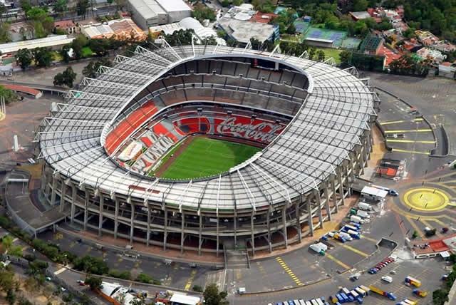 Difunden fotos de daños en el estadio Azteca tras sismo del 19 de septiembre