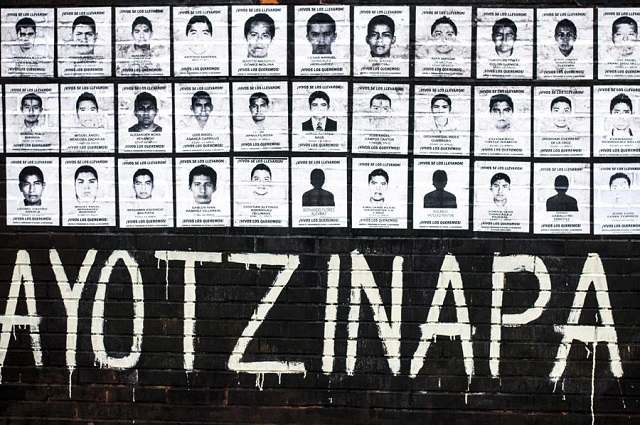 En Estados Unidos cierran el  caso Ayotzinapa