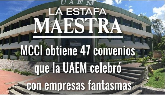 Mexicanos Contra la Corrupción obtiene 47 contratos de la Estafa Maestra