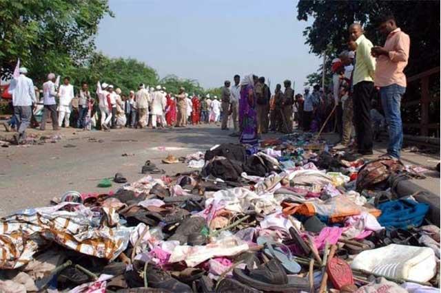 Mueren 19 personas durante estampida en peregrinación en la India