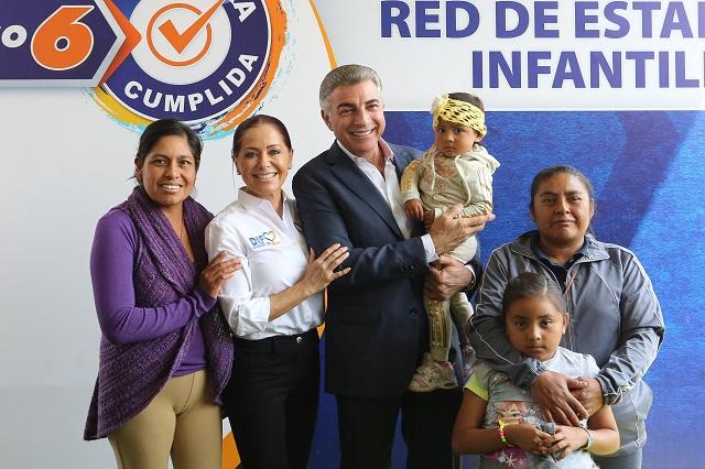 Presentó Gali Red de Estancias Infantiles de la que no hay rastro