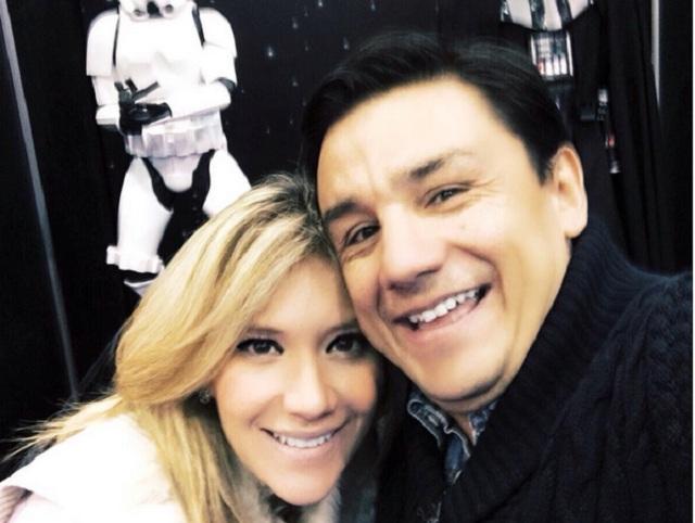 Golpean a novia de Esteban Macías y secuestran a su hijo