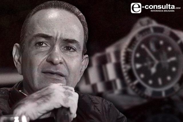 Estefan Chidiac tiene al menos 3 mdp en relojes exclusivos