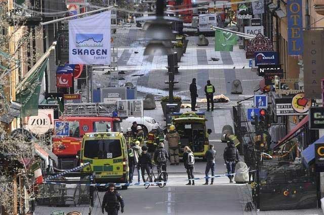 Se declara culpable el atacante que mató a 4 personas en Estocolmo