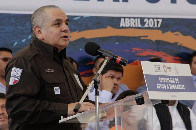 Vargas Fosado deja el INM luego de 5 años; será asesor de la SEGOB