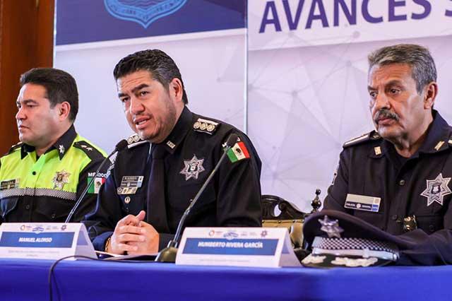 Con estrategia Todos por la seguridad presentan a 344 ante el Ministerio Público