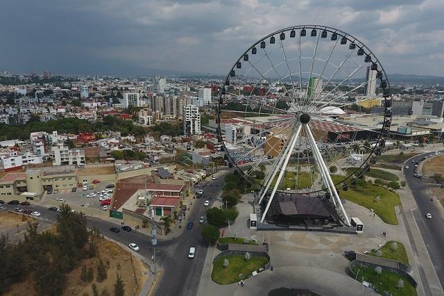 Gasta Puebla más de 12 mil pesos al día para vigilar nuevos parques