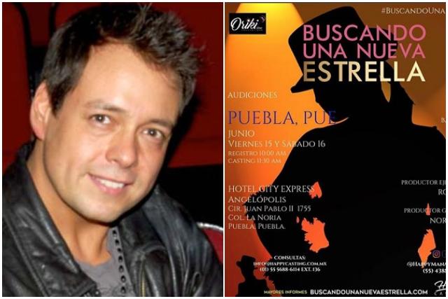 Rodrigo Vidal busca en Puebla a la próxima estrella de México