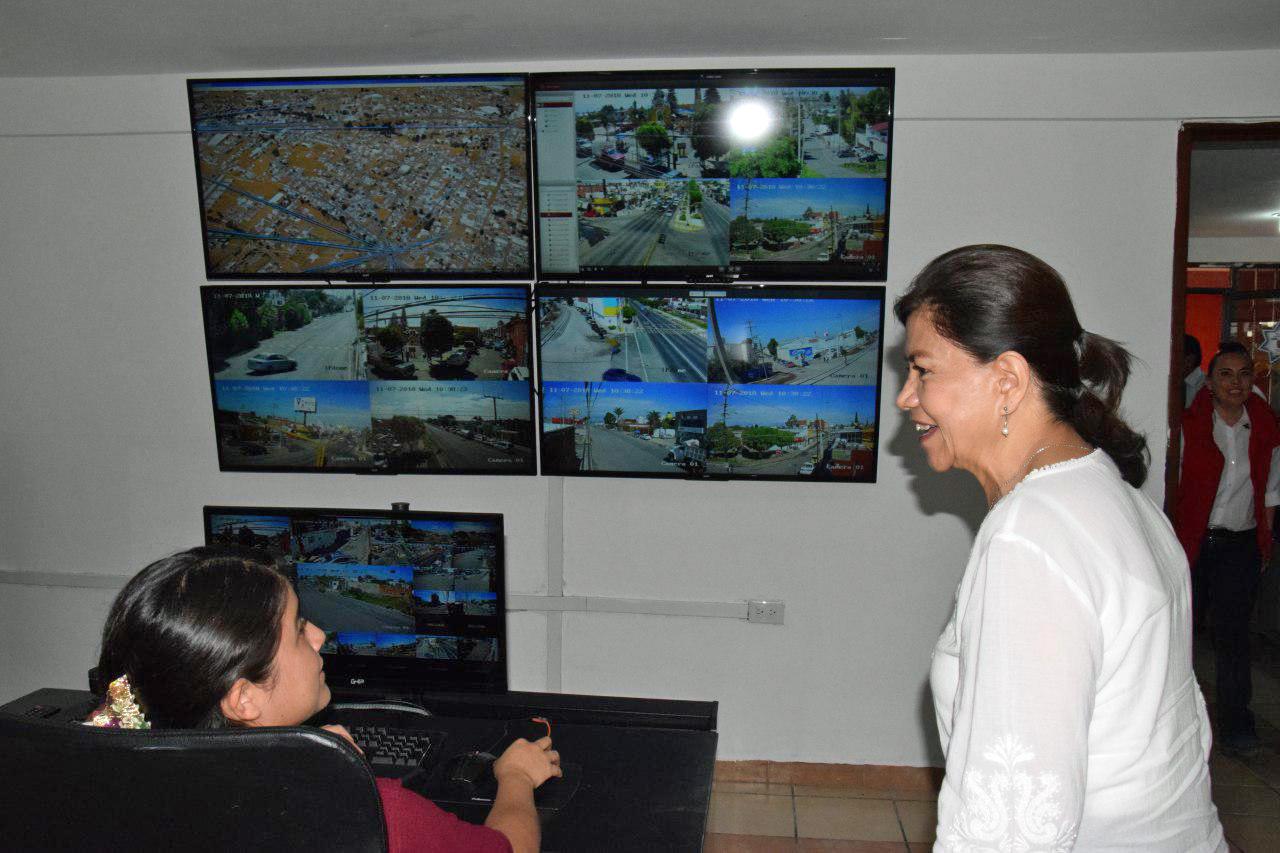 Estrena San Pedro Cholula segundo centro de monitoreo y calles
