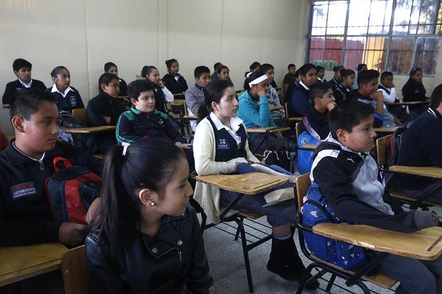 Aplicará Secretaría de Educación encuesta de bienestar de estudiantes