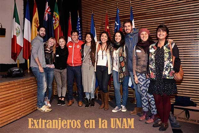 Cientos de extranjeros estudian en la UNAM