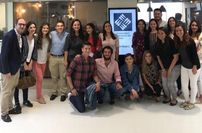 Alumnos Anáhuac participan en Seminario Internacional, en España