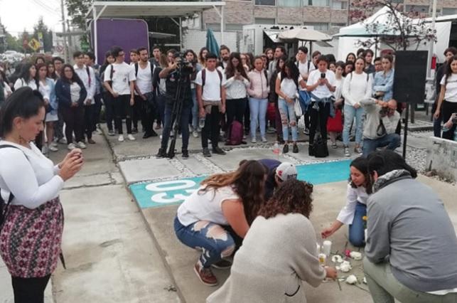 Tras crimen, estudiantes de la Ibero exigen seguridad en Puebla