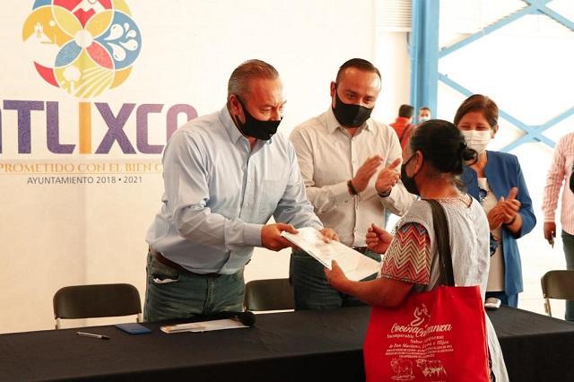 Inicia gobierno de Atlixco entrega de 400 Estufas Ecológicas