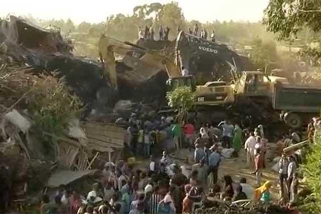 Un derrumbe en basurero de Etiopía mata a 50 personas