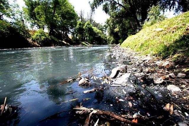 Texmelucan y Tepetitla son los que más contaminan el Atoyac