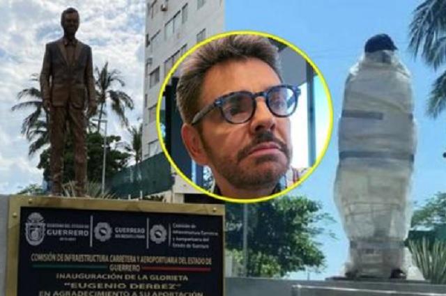 Eugenio Derbez responde ante polémica de su estatua en Acapulco