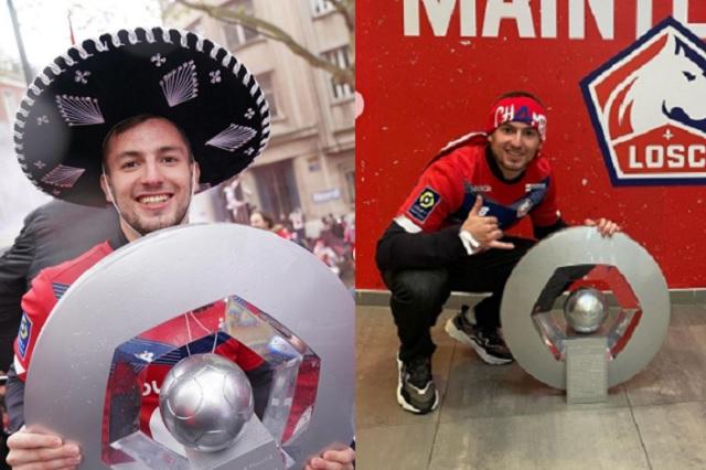 Mexicano Eugenio Pizzuto es campeón de Francia sin jugar un partido