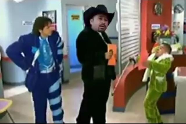 Eugenio Derbez parodia invitación a los XV de Ruby