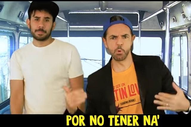 Eugenio Derbez y Werevertumorro parodian video de Enrique Iglesias