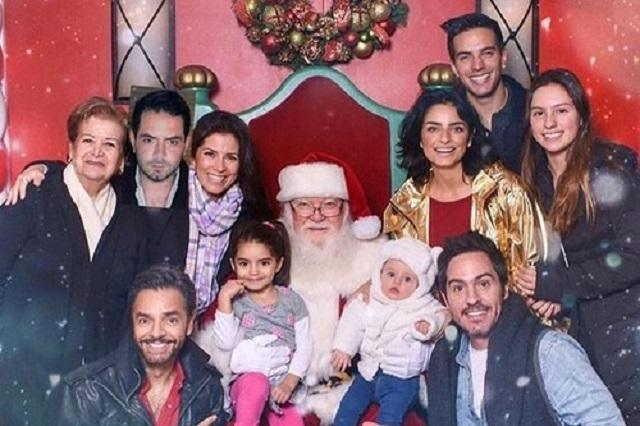 Eugenio Derbez y su familia Se van de las redes sociales