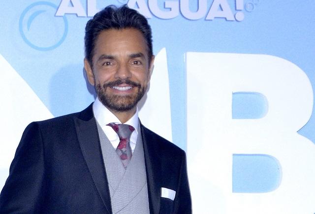 Eugenio Derbez bromea otra vez sobre su relación Victoria Ruffo
