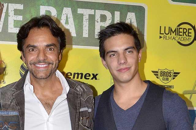 Vadhir le juega broma a Eugenio Derbez y su padre explota al aire