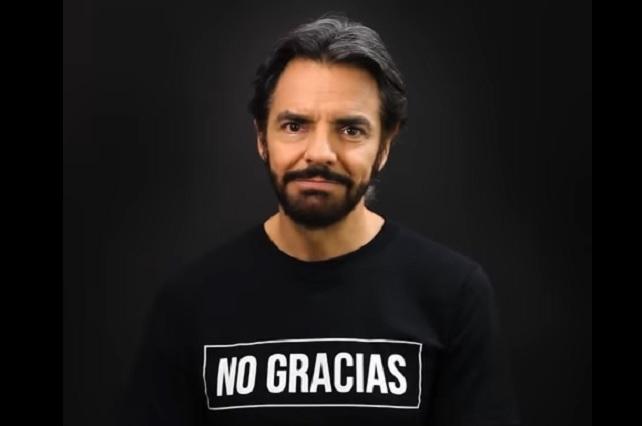 Eugenio Derbez invita a no tomar leche de vaca y explica la razón