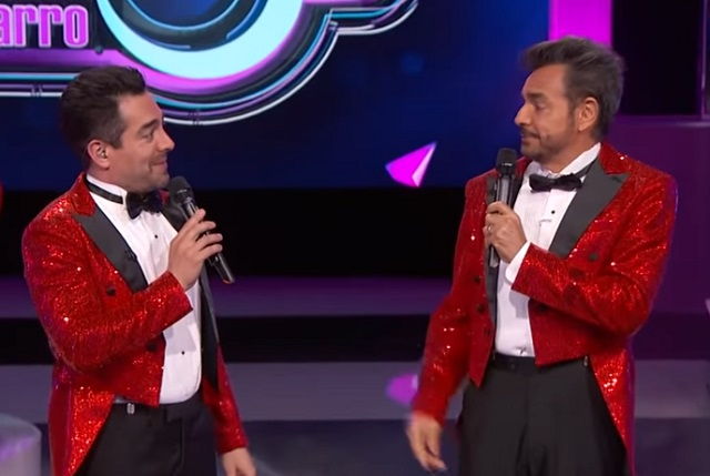 Video: Eugenio Derbez y Omar Chaparro se insultan de broma