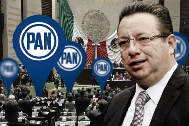Confirma Eukid salida de la Vicecoordinación del PAN en San Lázaro