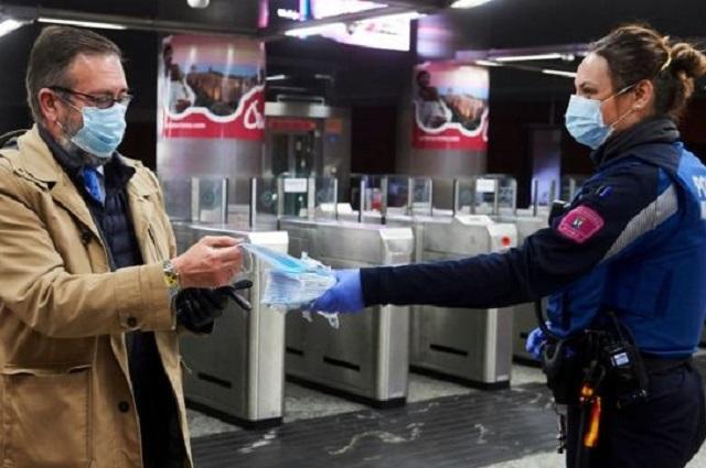 Registra Francia 41 mil nuevos casos de Covid en 24 horas