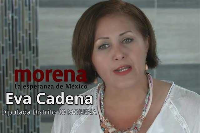 La Fepade solicitará el desafuero de la diputada Eva Cadena