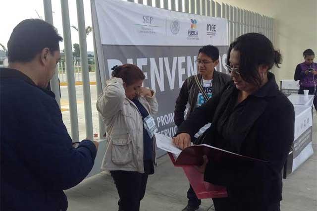 Caídas del sistema registran evaluaciones docentes: SNTE