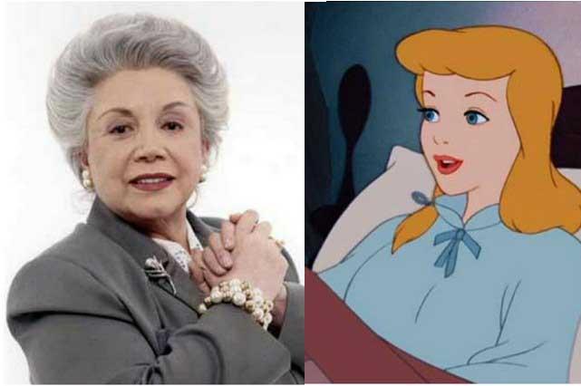 Evangelina Elizondo dio su voz a Cenicienta y Disney no le dio regalías
