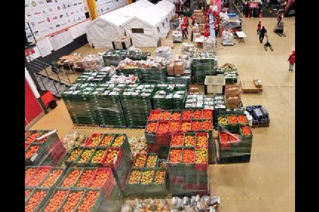 Empresarios sí donan alimentos para 10 mil familias en Puebla