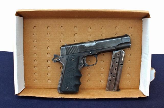 Detienen a menor de edad por portación ilegal de arma de fuego