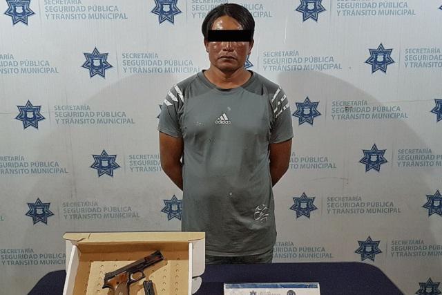 Lo detienen en Bosques de Chapultepec por llevar pistola