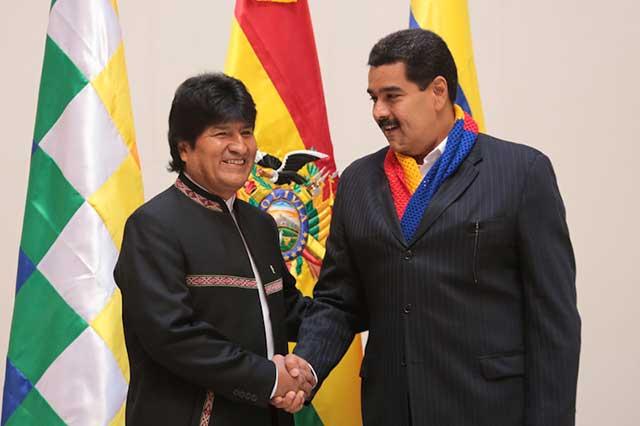 Evo Morales responsabiliza a Vicente Fox de lo que le pase a Nicolás Maduro