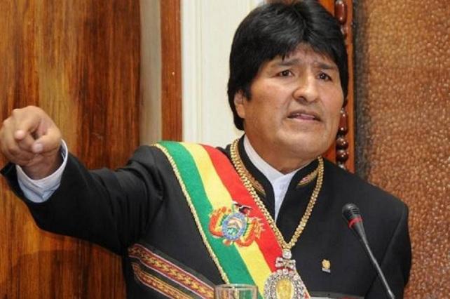 Roban medalla y banda presidencial de Evo Morales