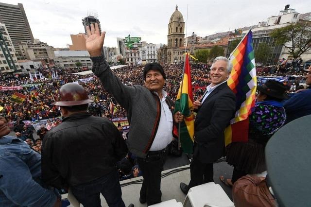 Ha sido un periplo traer a México a Evo Morales, dice Ebrard