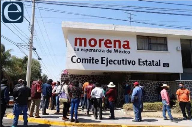 Suspende Morena renovación de su dirigencia en Puebla