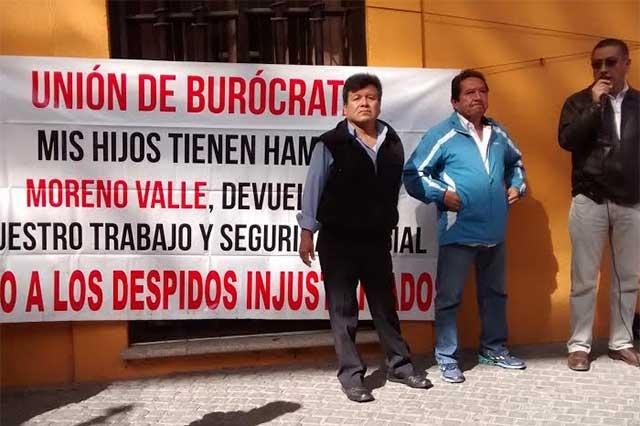 Ex burócratas presentan denuncias contra tribunales laborales