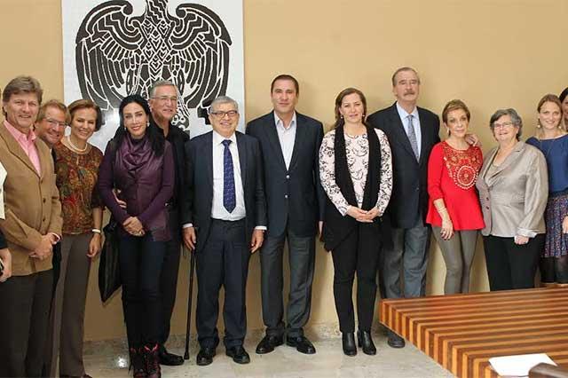 Recibe RMV a expresidentes de México, Colombia y Suiza
