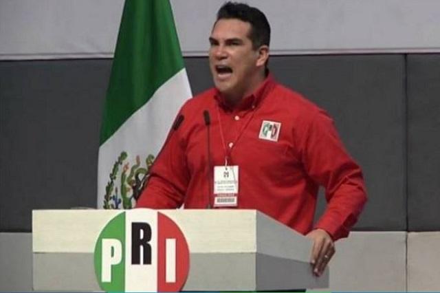 Ex presidentes no deciden en el PRI, responde Alito Moreno