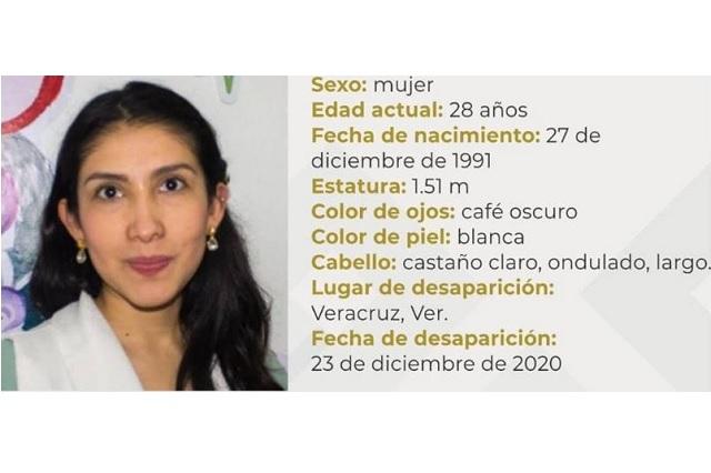 Buscan a ex alumna de la IBERO Puebla desaparecida en Veracruz