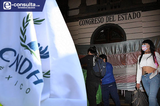 Exige CNDH al Congreso de Puebla legislar la ley Agnes