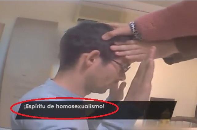 Exorcizan a joven en España para 'curarlo' de la homosexualidad