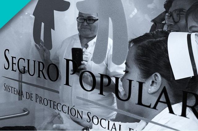 Consuma Congreso extinción del Seguro Popular en Puebla