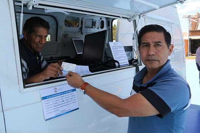 Unidades móviles de licencias visitarán seis municipios: SIMT