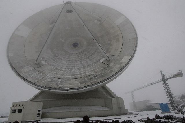 Diputados federales exigen seguridad en telescopio milimétrico